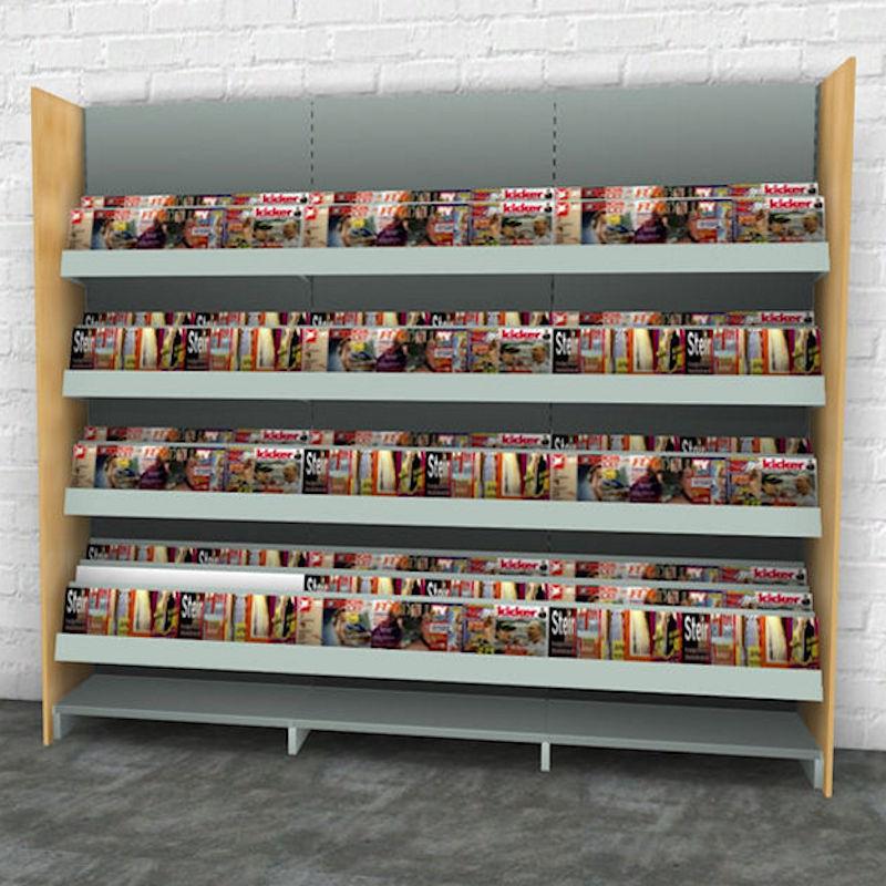 zeitschriftenregal in neun stufiger ausf hrung expert. Black Bedroom Furniture Sets. Home Design Ideas