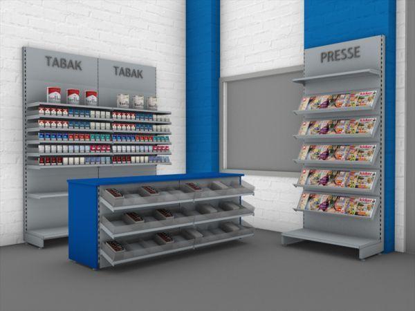 Kioskeinrichtung Komplett Theke Und Regale Von Expert Ladenbau